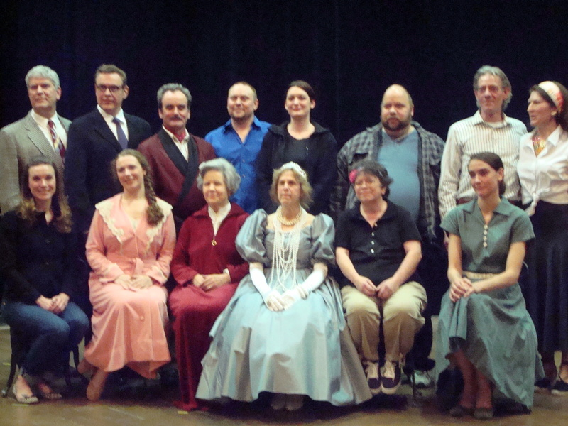 Casts of 2011 one-acts
